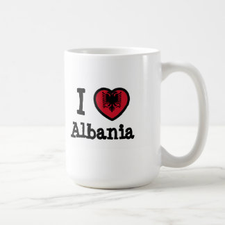 Bandeira de Albânia Canecas