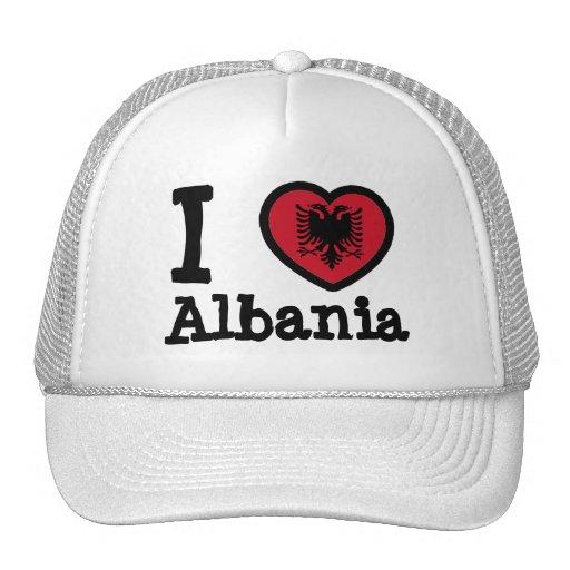 Bandeira de Albânia Boné