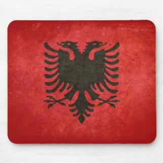 Bandeira de Albânia Mousepads
