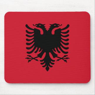 Bandeira de Albânia Mouse Pads