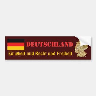 Bandeira de Alemanha + Autocolante no vidro Adesivo Para Carro