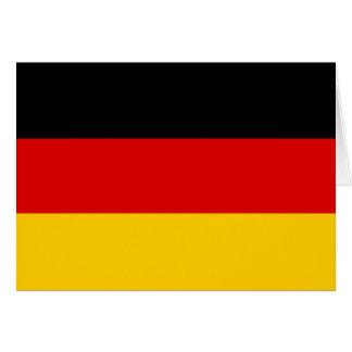 Bandeira de Alemanha Cartão De Nota