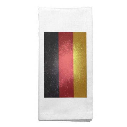Bandeira de Alemanha Guardanapos Impresso