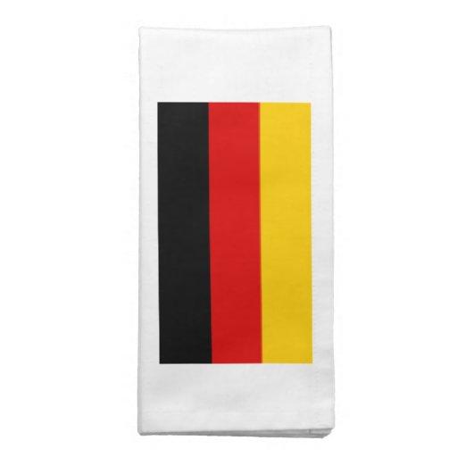 Bandeira de Alemanha Guardanapo De Pano