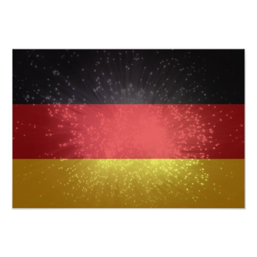 Bandeira de Alemanha Impressão