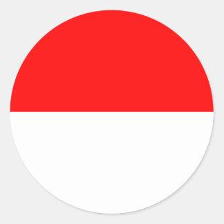 Bandeira de Alsácia-Lorena Adesivo Redondo