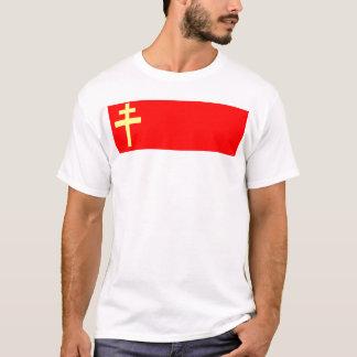 Bandeira de Alsácia-Lorena Camiseta