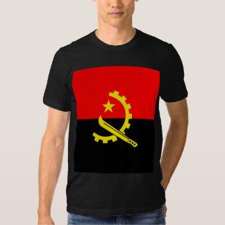 Bandeira de alta qualidade de Angola Camiseta
