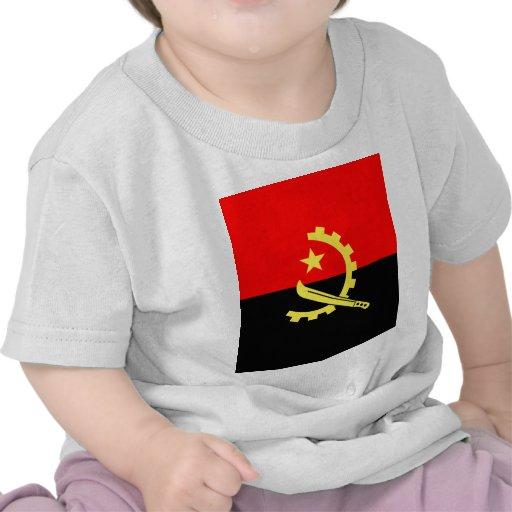 Bandeira de alta qualidade de Angola Tshirts