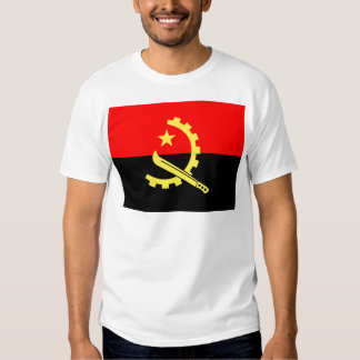 Bandeira de alta qualidade de Angola Tshirt