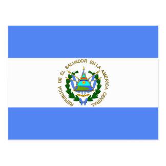 Bandeira de alta qualidade de El Salvador Cartoes Postais