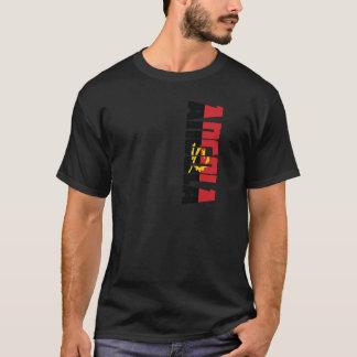 Bandeira de Angola Camiseta