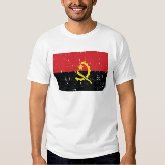 Bandeira de Angola T-shirt