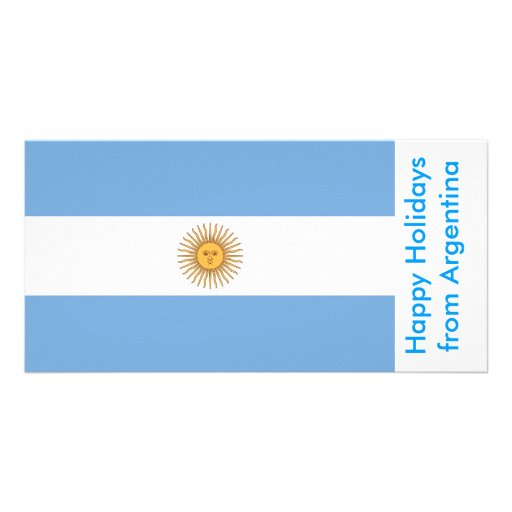 Bandeira de Argentina, boas festas de Argentina Cartoes Com Fotos