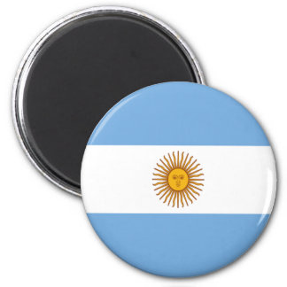 Bandeira de Argentina Ímã Redondo 5.08cm