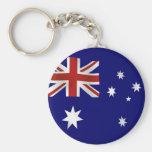 Bandeira de Austrália Chaveiros