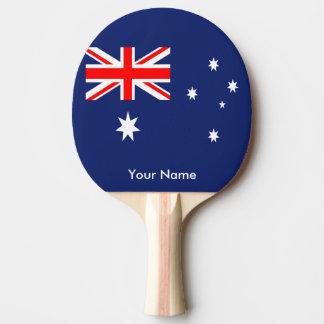 Bandeira de Austrália Raquete De Tênis De Mesa