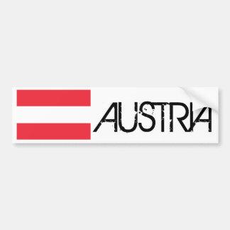 Bandeira de Áustria Adesivo Para Carro