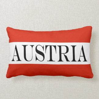 Bandeira de Áustria Almofada Lombar