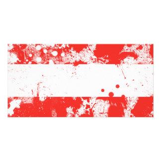 Bandeira de Áustria Cartão Com Foto