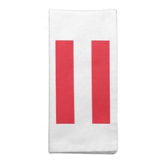 Bandeira de Áustria Guardanapo De Pano