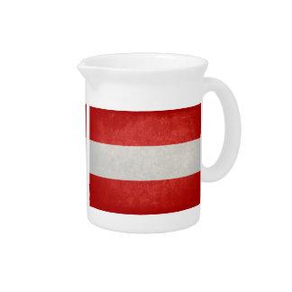 Bandeira de Áustria; Jarro