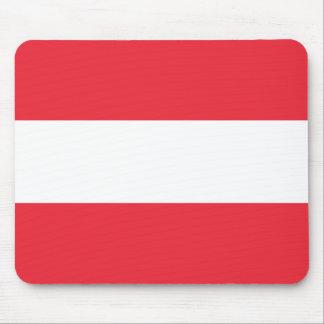 Bandeira de Áustria Mousepads
