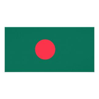Bandeira de Bangladesh Cartão Com Foto