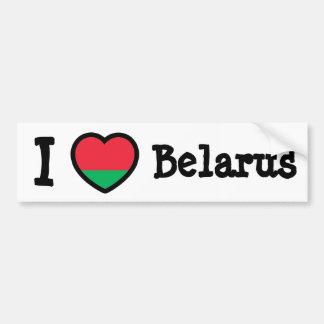Bandeira de Belarus Adesivos