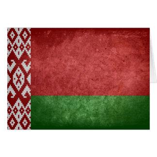Bandeira de Belarus Cartão De Nota