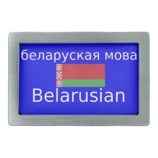 Bandeira de Belarus e design da língua