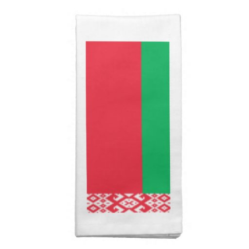 Bandeira de Belarus Guardanapo