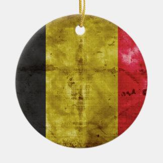 Bandeira de Bélgica Enfeites De Natal