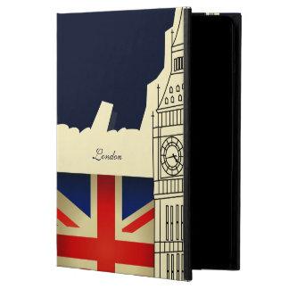 Bandeira de Big Ben Union Jack da cidade de Londre