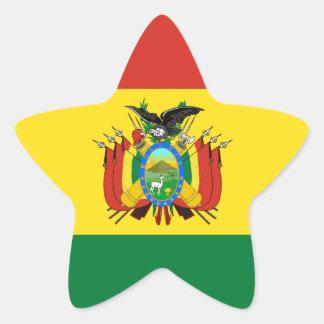 Bandeira de Bolívia Adesito Estrela