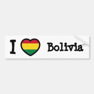 Bandeira de Bolívia Adesivo Para Carro