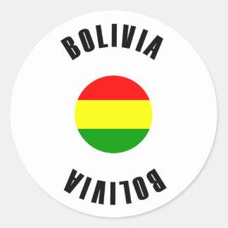 Bandeira de Bolívia simples Adesivo