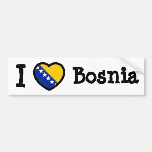 Bandeira de Bósnia Adesivos