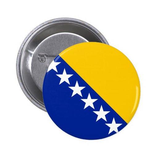 Bandeira de Bósnia Botons