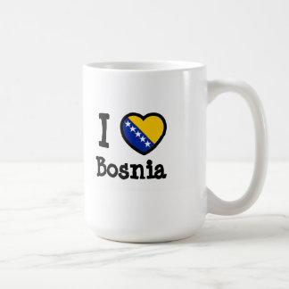 Bandeira de Bósnia Caneca