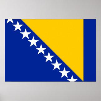 Bandeira de Bósnia Posteres