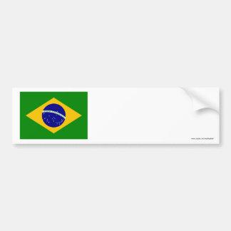 Bandeira de Brasil Adesivo