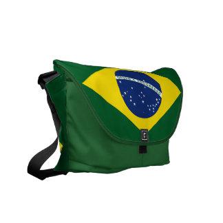 Bandeira de Brasil Bolsas Mensageiro
