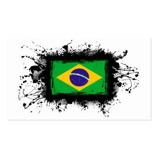 Bandeira de Brasil Cartão De Visita