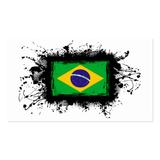 Bandeira de Brasil Cartao De Visita