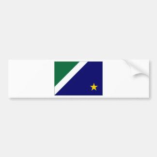 Bandeira de Brasil Mato Grosso do Sul Adesivo Para Carro