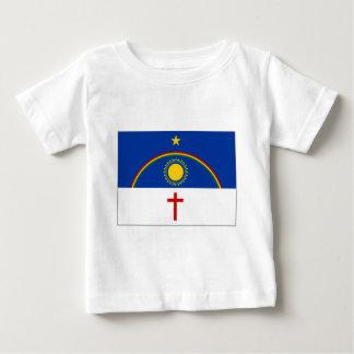 Bandeira de Brasil Pernambuco Camiseta Para Bebê