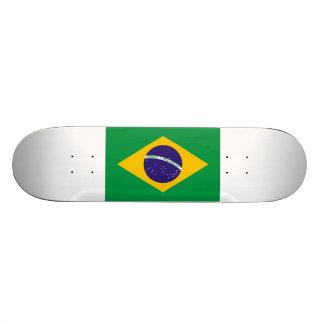 Bandeira de Brasil Shape De Skate 18,1cm