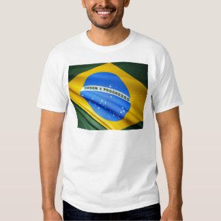 Bandeira de Brasil Tshirts
