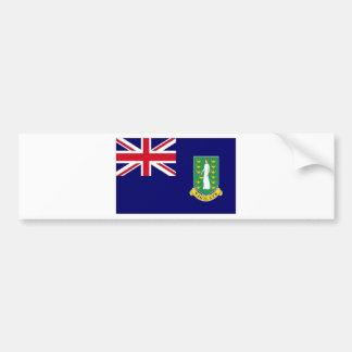 Bandeira de British Virgin Islands Adesivo Para Carro